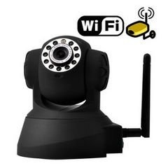 Surveillance Equipment - Wifi IP Surveillance Camera with Angle Control and Motion Detection