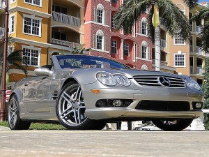 "2005 MERCEDES-BENZ SL55 AMG PEWTER/GREY 20"" WHLS EXHAUST URGENT"