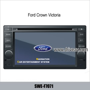 Ford Crown Victoria oem radio player car dvd gps navigation SWE-F7071