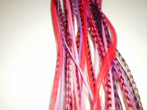 We have good quality grizzly rooster feathers