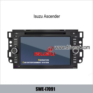 Isuzu Ascender factory OEM radio GPS DVD Player bluetooth IPOD SWE-I7091