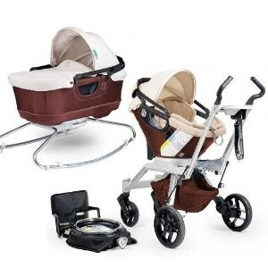 Orbit Baby Stroller Travel System G2 with Bassinet Cradle G2