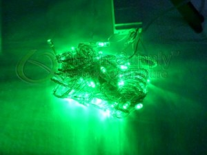LED String Lights - Green Color (10 Meters or 32.8 Feet Long) - No Extended Plug