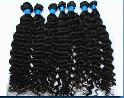 Quality Brazilian hair and other human hair in stock.
