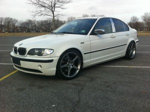white 2006 BMW 7 Series 4dr 750Li