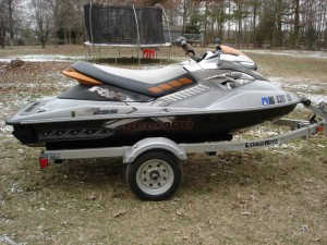 2009 Sea Doo RXP-X 255 Supercharged- $2200