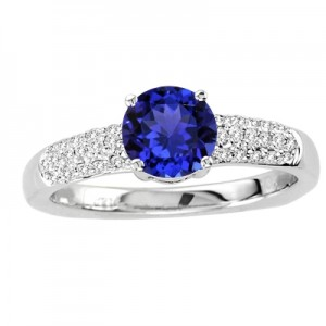 Buy Online Tanzanite Engagement Rings From tanzanite.com