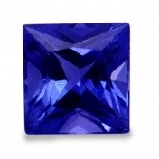 Tanzanite Princess Cut Stones - toptanzanite.com