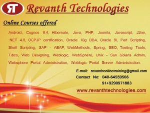 OBIA Online training from Bangalore