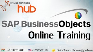 2 free demos on SAP Business Objects online training by SAP certified consultant