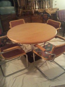 Italian made Table & Chairs