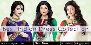 Saree, Salwar, Lehenga, Shopping at Sringaar.Com
