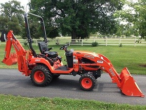 2012 Kubota BX25 Tractor Loader Backhoe, 22 Hrs