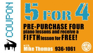 Mike's Piano Lessons