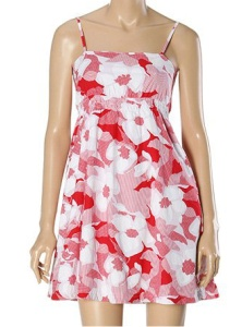 Sundress with Floral Prints