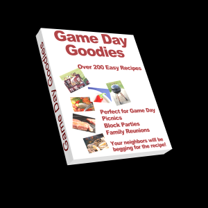 Game Day Goodies - 264 pages of over 200 quick and easy recipes